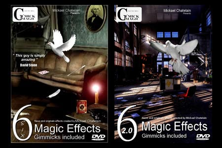 Lot DVD Six Magic Effects et Six 2.0