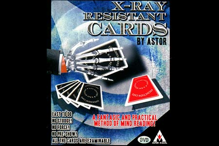 X-ray resistant cards (DVD + Gimmick)