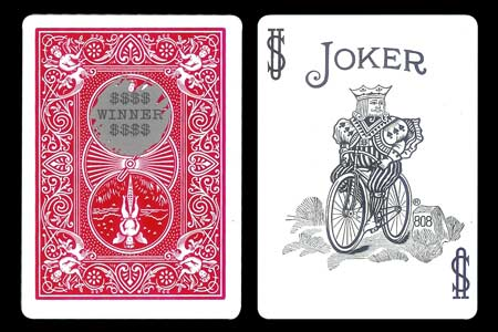Carte Bicycle Joker Winner