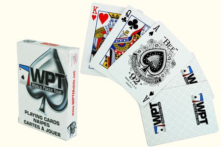 Jeu World Poker Tour dos blanc (New)