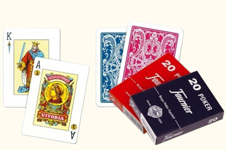 Spanish deck Fournier 20