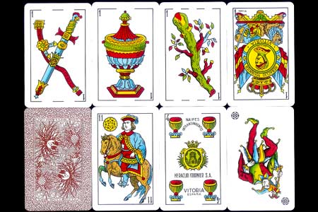 Spanish deck Fournier 5