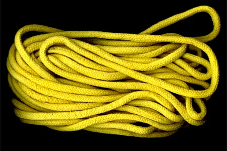 Yellow rope 8 mm
