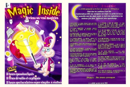 DVD Magic Inside