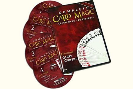 Complete Card Magic (4 DVDs)