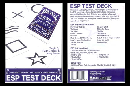 ESP Test Deck + DVD