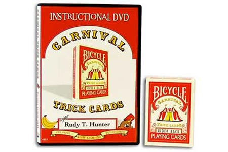 Jeu Bicycle Carnival + DVD