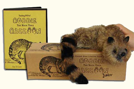 Robbie el Raccoon Junior + DVD