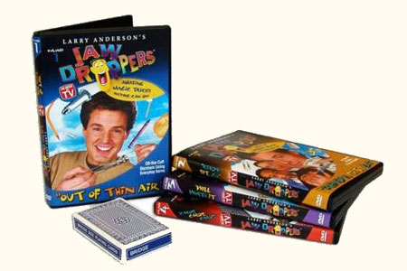 Lot DVDs Jaw Droppers (4 Dvds)