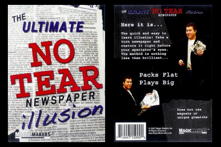 DVD Ultimate No Tear Newspaper