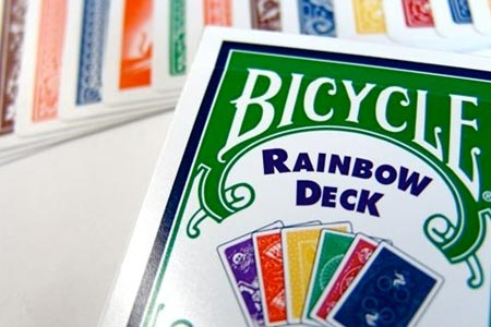 Bicycle Rainbow Deck (Deck + DVD)