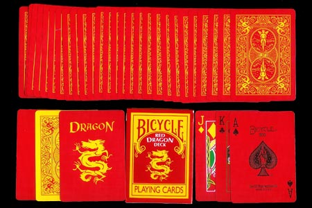 Baraja BICYCLE Red Dragon