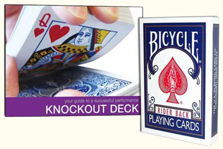Jeu Knockout en Bicycle + DVD