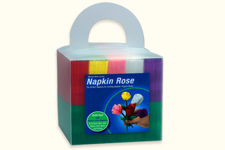 Napkin Rose Pack (150 roses, 5 couleurs)
