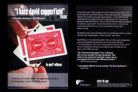 DVD I hate David Copperfield