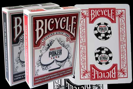 Baraja BICYCLE World Series of Poker