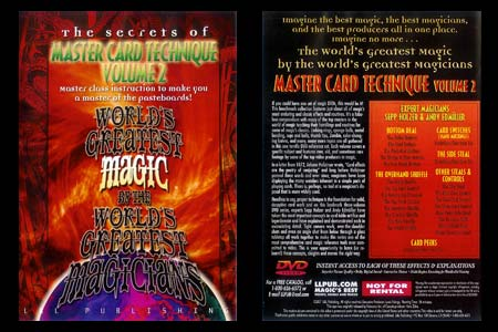 DVD The Secrets of Master Card Technique (Vol.2)