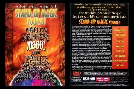 DVD The Secrets of Stand-up Magic (Vol.1)
