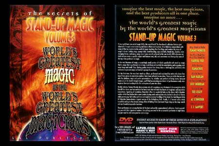 DVD The Secrets of Stand-up Magic (Vol.3)