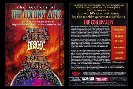 DVD The Secrets of The Collins' Aces