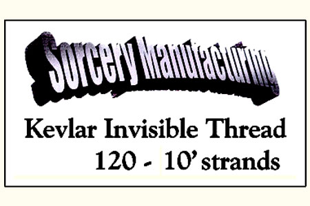 Kevlar invisible thread (Black)