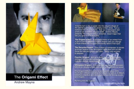 DVD The Origami Effect