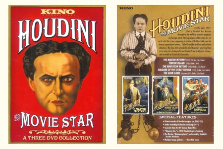 Houdini the Movie Star (3 DVDs)