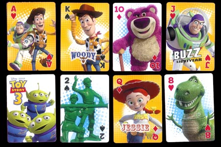 Toy Story 3 Bicycle Deck