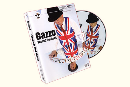 Baraja Gazzo Tossed Out Deck (DVD + Naipe)