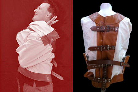 Double Straight Jacket (prop and DVD)