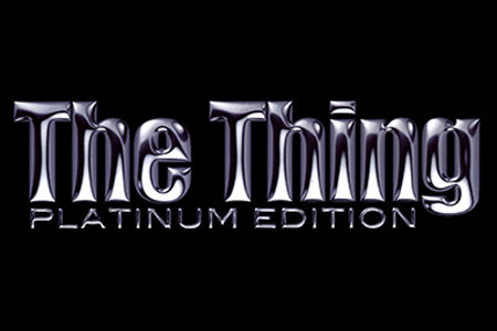 The thing - Platinium edition