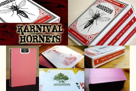 Karnival Hornets Bicycle deck