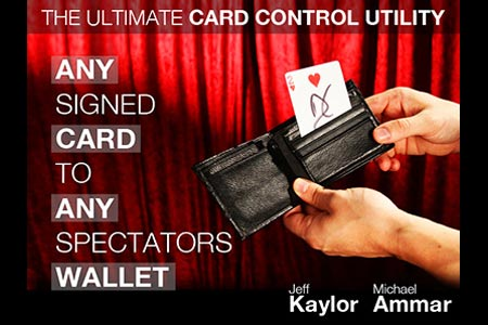 Ultimate Card Control Utility (DVD + Gimmick)
