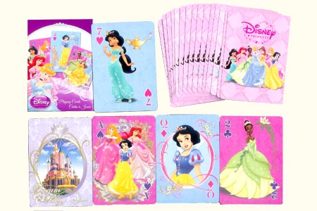 Jeu Bicycle Princesse New (Disney)