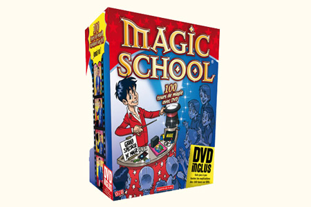 Coffret magic school 100 tours dvd tour de magie - Tour de magie la femme coupee en deux ...
