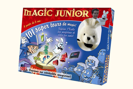 Coffret Magic Junior 101 Tours + Lapin