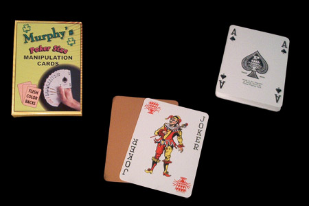 Cartes de manip poker Murphy's (chair)