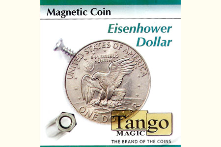 Magnetic Eisenhower Dollar