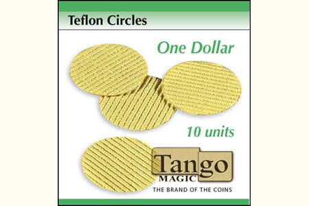 Teflon cricles Dollar size (10 units)