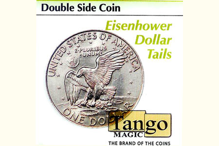 Double side coin Tails - Eisenhower Dollar