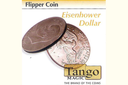 Flipper coin Eisenhower dollar