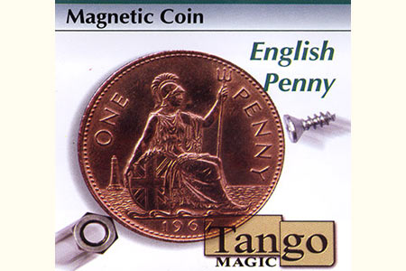 Magnetic coin - One Penny