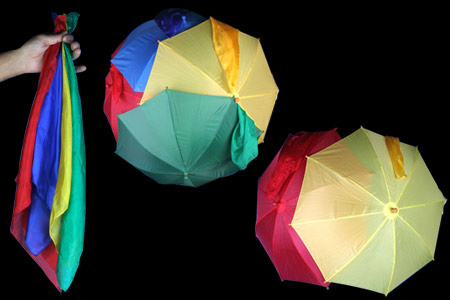 4 silks, 4 umbrellas