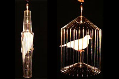 Automatic Appearing bird Cage