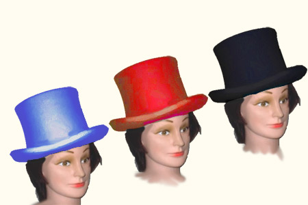 Color changing top hat