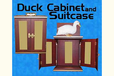 Duck Cabinet and Suitcase