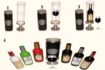 tour de magie bouteille de vin