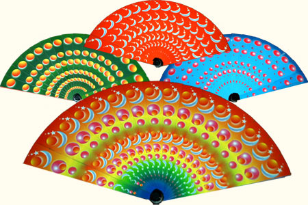 Colour changing fan Jumbo