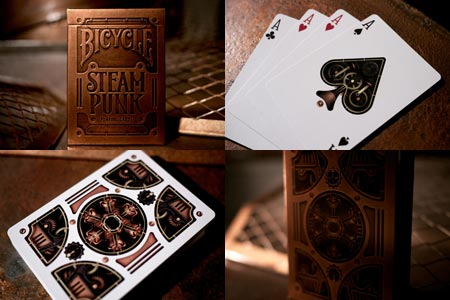 Jeu Bicycle SteamPunk Gold