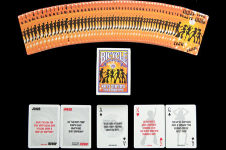70's Party Starters Bicycle Deck